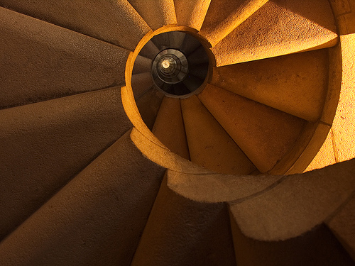 Sagrada Spiral photo by David Nikonvscanon